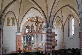 Innenansicht von St. Johannis Krummesse - Copyright: Manfred Maronde