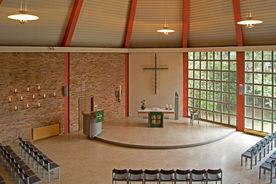 Blick von der Empore in den Innenraum von St. Martin - Copyright: Manfred Maronde