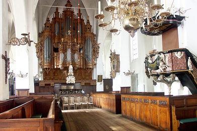 Gottesdienstraum mit Blick auf die Orgel St.-Aegidien-Kirche - Copyright: Ev.-Luth. Kirchenkreis Lübeck-Lauenburg