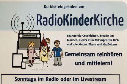 Ein Plakat der Radiokinderkirche. - Copyright: RadioKinderKirche