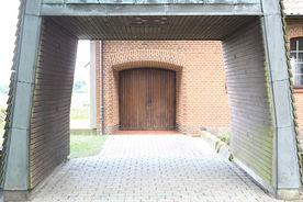 Der Eingang der Maria-Magdalenen-Kapelle Talkau
