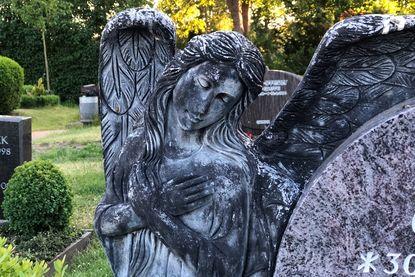Engel auf dem Friedhof der Kirchengemeinde Krummesse - Copyright: Katja Launer