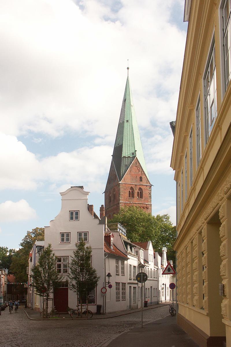 Außenansicht der St.-Aegidien-Kirche Lübeck - Copyright: Ev.-Luth. Kirchenkreis Lübeck-Lauenburg