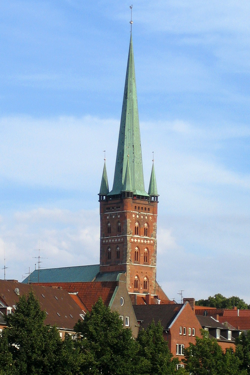 Außenansciht der St.-Petri-Kirche Lübeck - Copyright: Ev.-Luth. Kirchenkreis Lübeck-Lauenburg