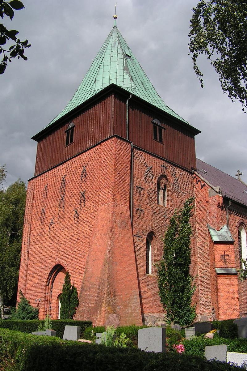 Die St.-Johannis-Kirche in Krummesse
