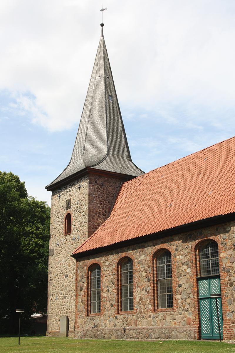Die St.-Johannis-Kirche in Siebeneichen