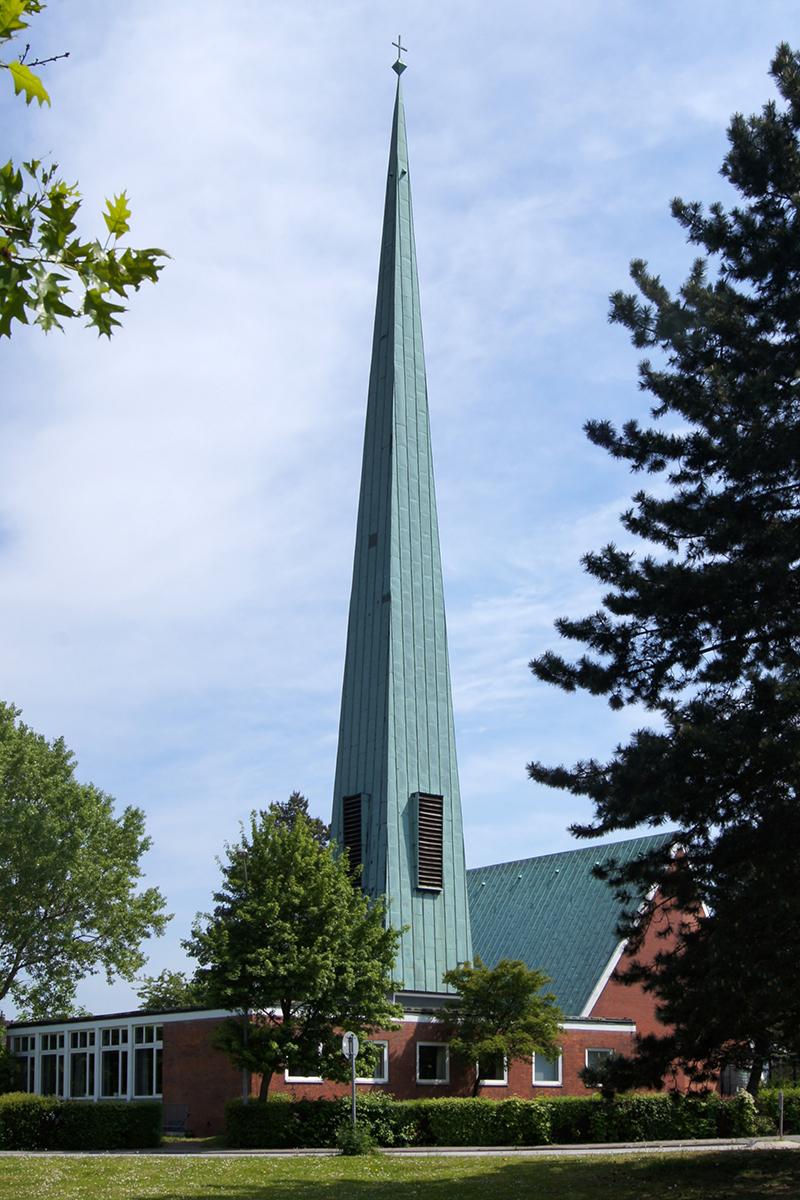 Die Dreifaltigkeitskirche Kücknitz - Copyright: Manfred Maronde