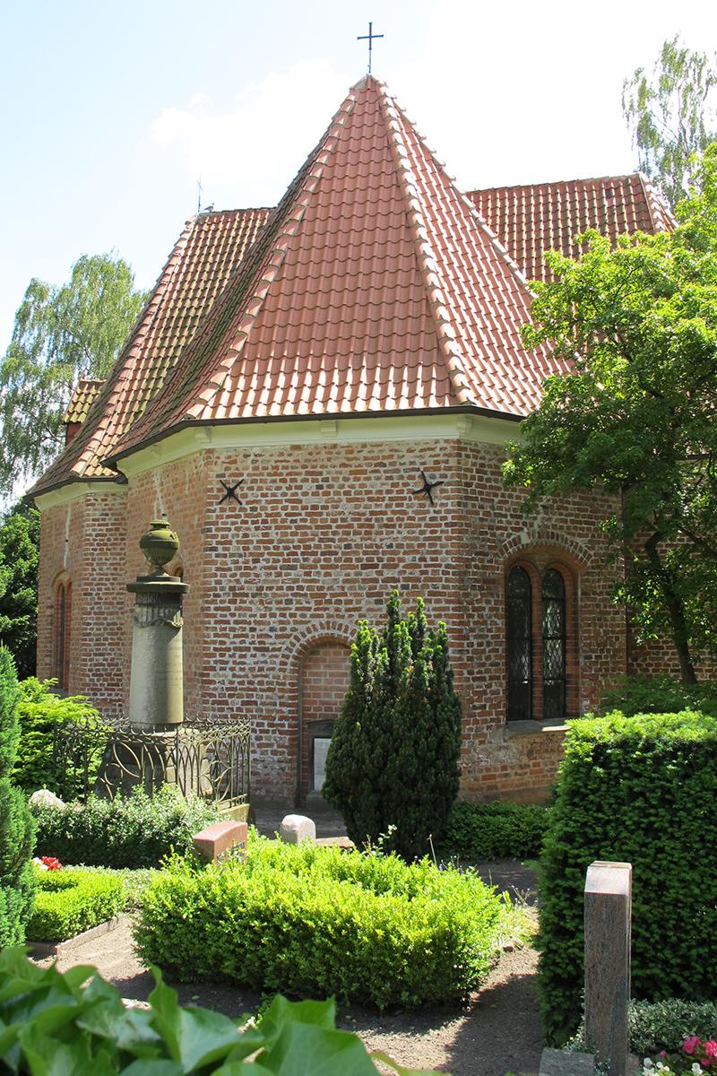 Außenansicht der St.-Jürgen-Kapelle - Copyright: Katja Launer